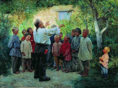 Алексей Чумаков профессионально пишет картины