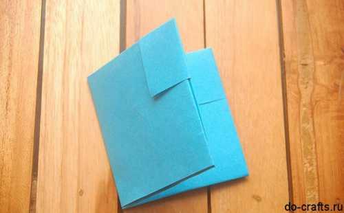 Как сделать кошелек из бумаги: мастер
