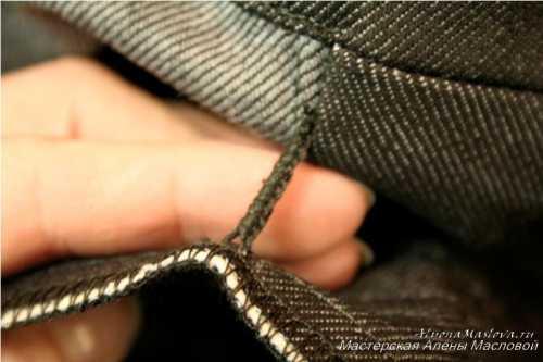 Поскольку куртка имеет, как правило, подкладку то все нюансы и ошибки прячутся внутри куртки