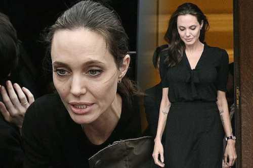 Анджелина Джоли упала в обморок из