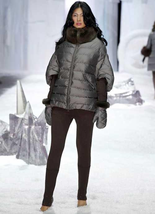 Бренды различной ценовой категории рекомендуют нынешней зимой разнообразить гардероб курточкой подобного фасона