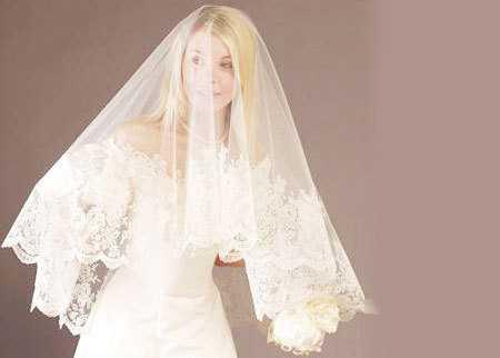 Как выбрать свадебную фату