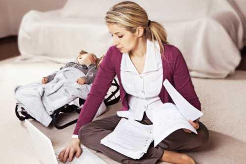Как совместить работу и заботу о ребенке: 5