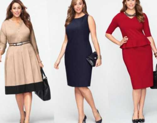 Ярко, романтично, женственно такой стиль диктует мода для полных женщин в году