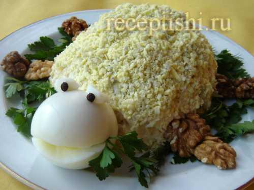 Праздничный праздничный салат