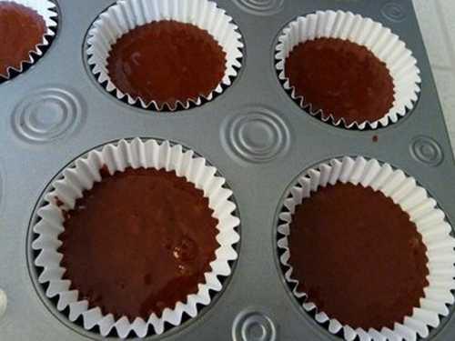Капкейки: рецепт шоколадных кексов