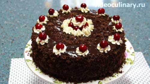 Рецепты торта Пьяная вишня в домашних условиях,