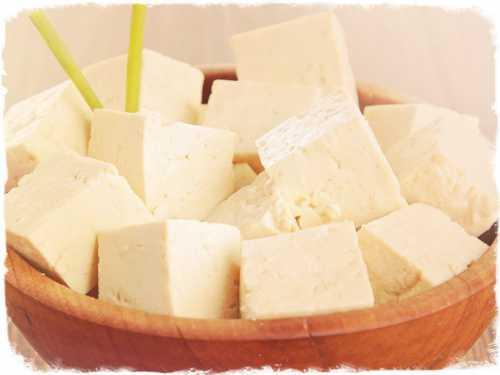 Сыр тофу, калорийность  и его полезные свойства,