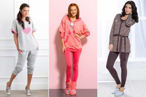 Модная женская домашняя одежда