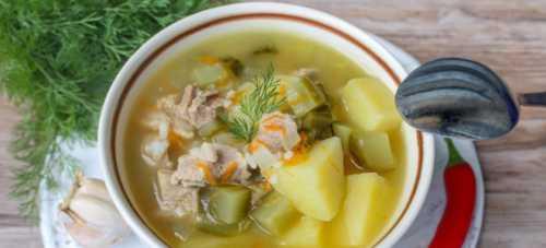 Если вы любите более диетический суп вам подойдет нежирная говядина или курятина