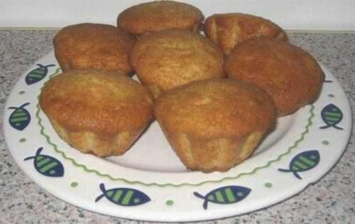 Простые кексы в формочках