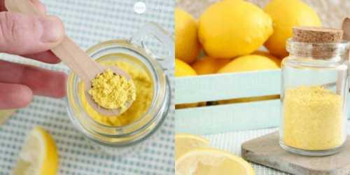 Приправа из лимонной цедры — секрет знаменитых шеф